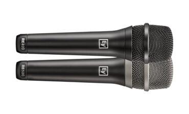 Electro-Voice RE420 i RE520 – nowe mikrofony wokalne