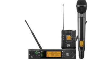 Electro-Voice RE3 – nowe systemy bezprzewodowe