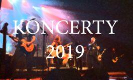 Rok 2019 – koncerty, festiwale…