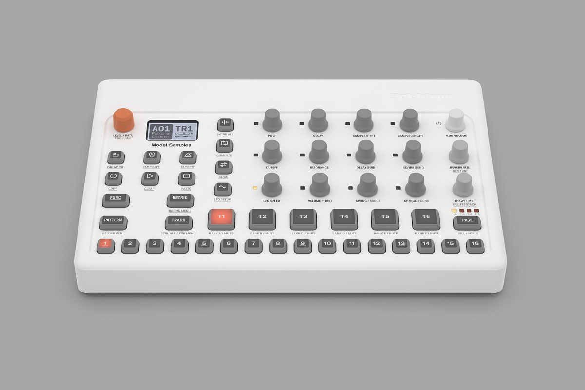 Elektron Model:Samples – nowy groovebox