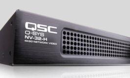 QSC wprowadza natywną dystrybucję wideo w ekosystemie Q-SYS
