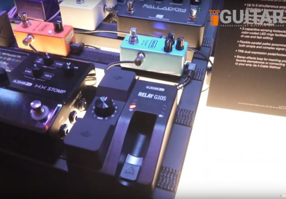 Line 6 Relay G10S na NAMM Show 2019 – wideo