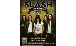 Slash już w lutym w Łodzi. Phil Campbell w roli supportu.