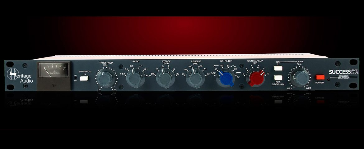 Heritage Audio Successor – Stereo Bus Compressor