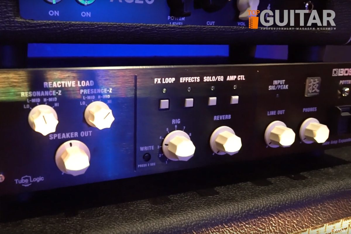 BOSS Waza Tube Amp Expander – wideo
