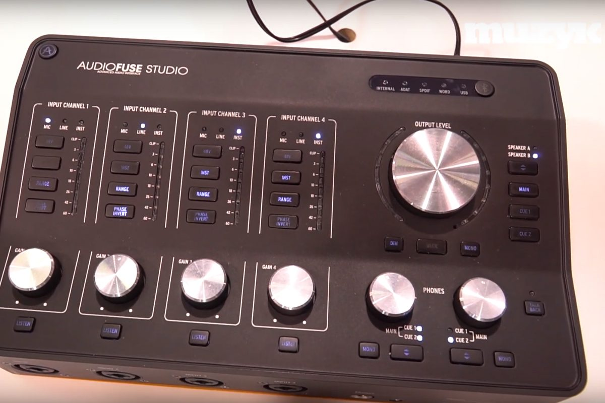 Arturia AudioFuse 8Pre i AudioFuse Studio – wideo z NAMM 2019