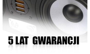 5 lat gwarancji na monitory studyjne Eve Audio