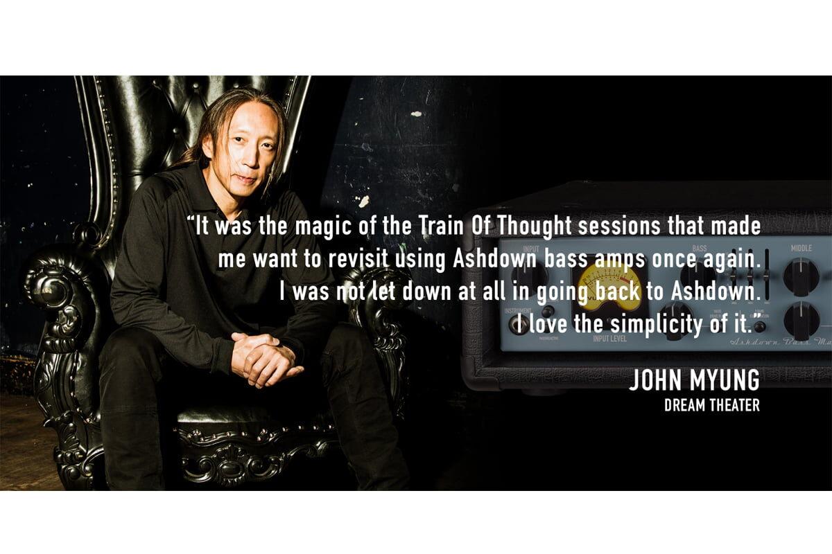 John Myung wraca do marki Ashdown