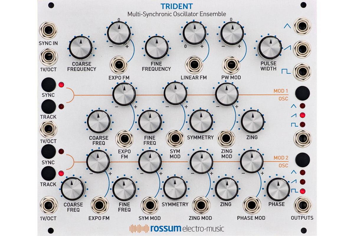 Rossum Electro-Music TRIDENT – nowy moduł Eurorack