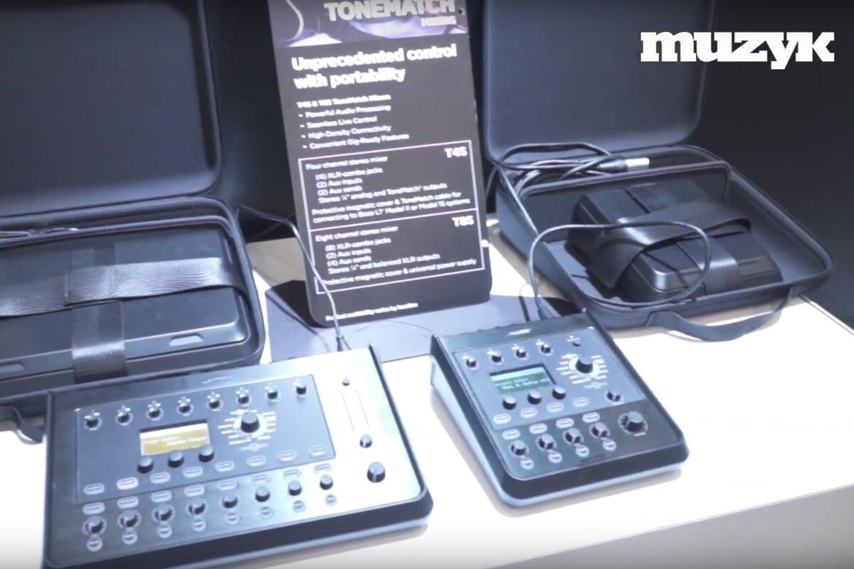Nowe etui dla Bose ToneMatch – NAMM 2019 – wideo