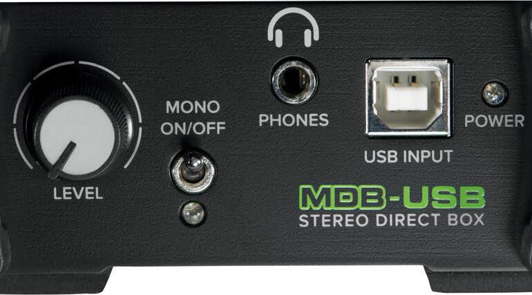Mackie MDB-USB przod