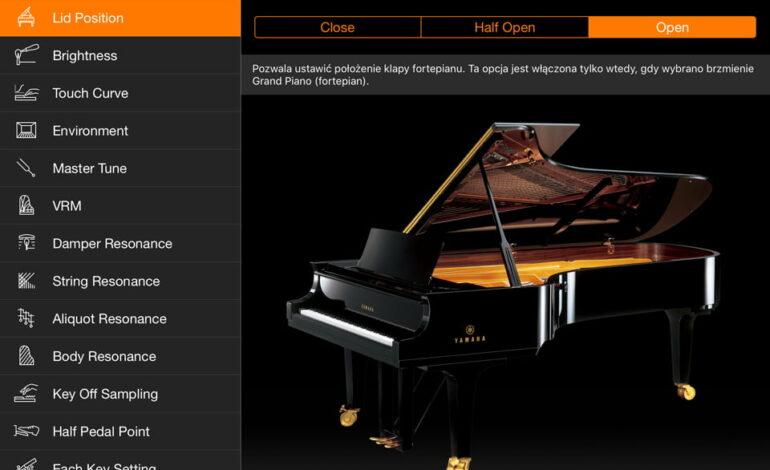Yamaha P-515 Smart Pianist 07