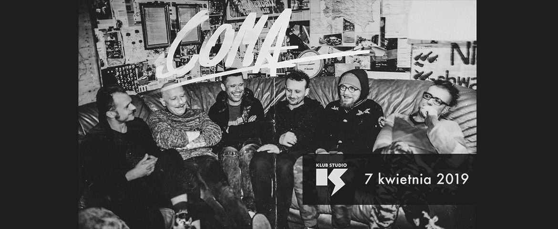 Coma zagra w krakowskim Klubie Studio