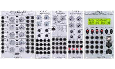 Doepfer – polifoniczne moduły Eurorack już dostępne