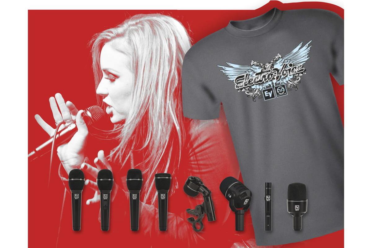 Twój souND zaczyna się tutaj – promocja mikrofonów Electro-Voice