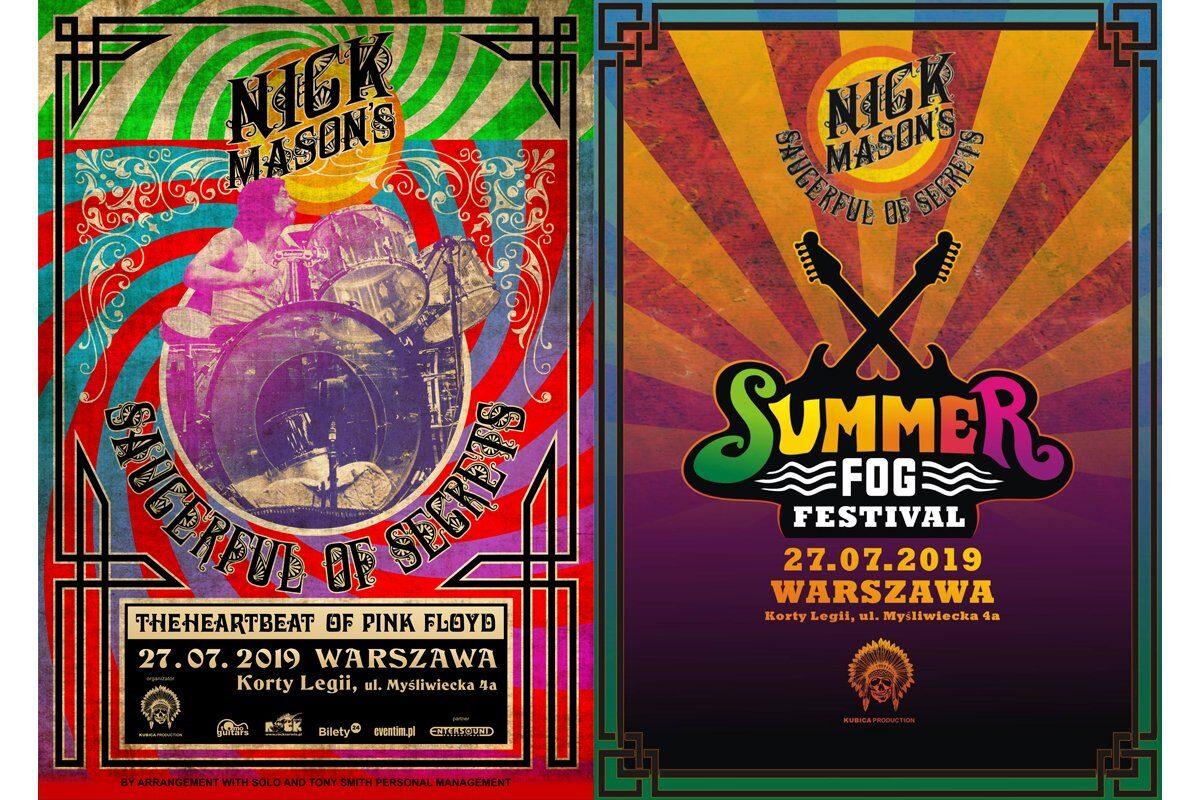 Nick Mason wystąpi w Warszawie