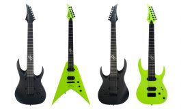 Solar Guitars – nowe gitary A2 i V2