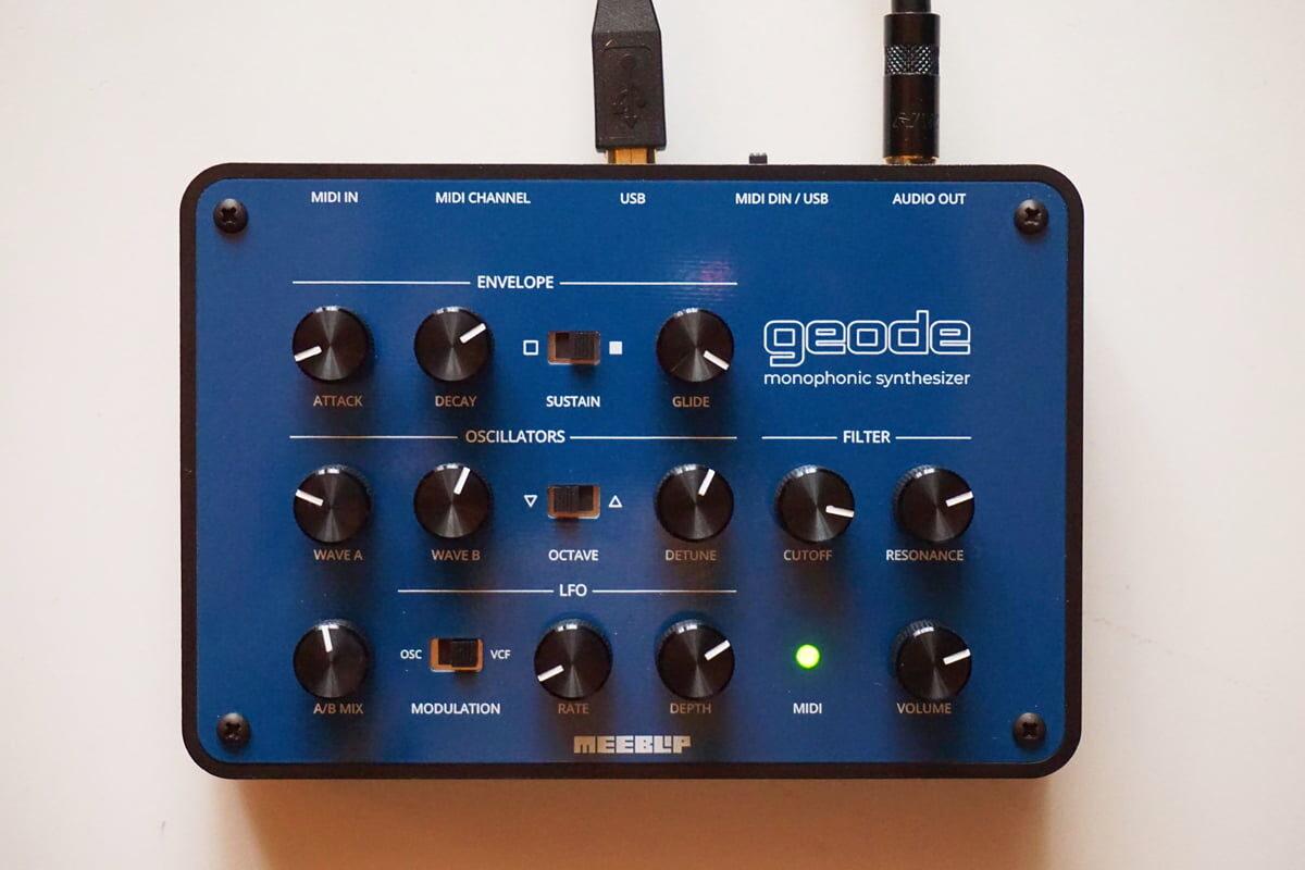 MeeBlip geode – nowy syntezator monofoniczny