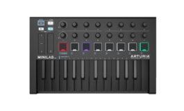 Arturia MiniLab Mk II Deep Black