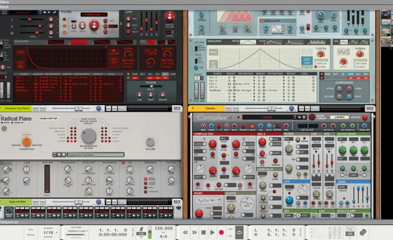 Propellerhead Reason 10_2 rack_instrumenty