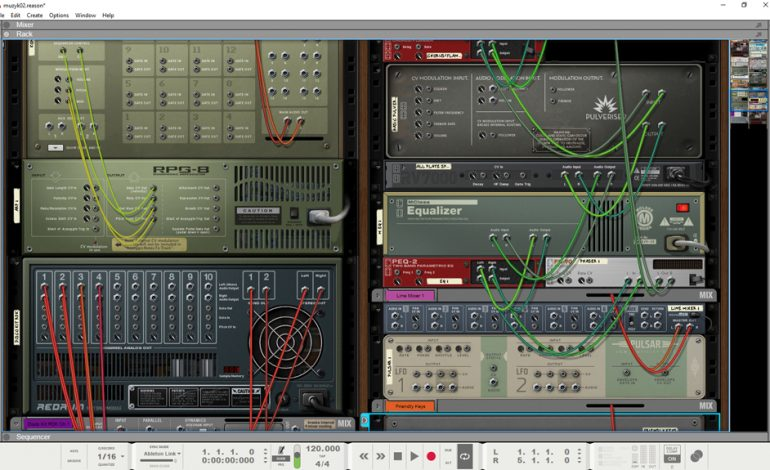 Propellerhead Reason 10_2 rack_tyl