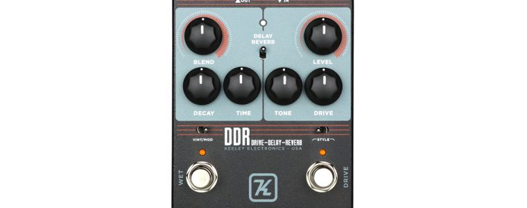 Keeley Electronics DDR – Drive Delay Reverb