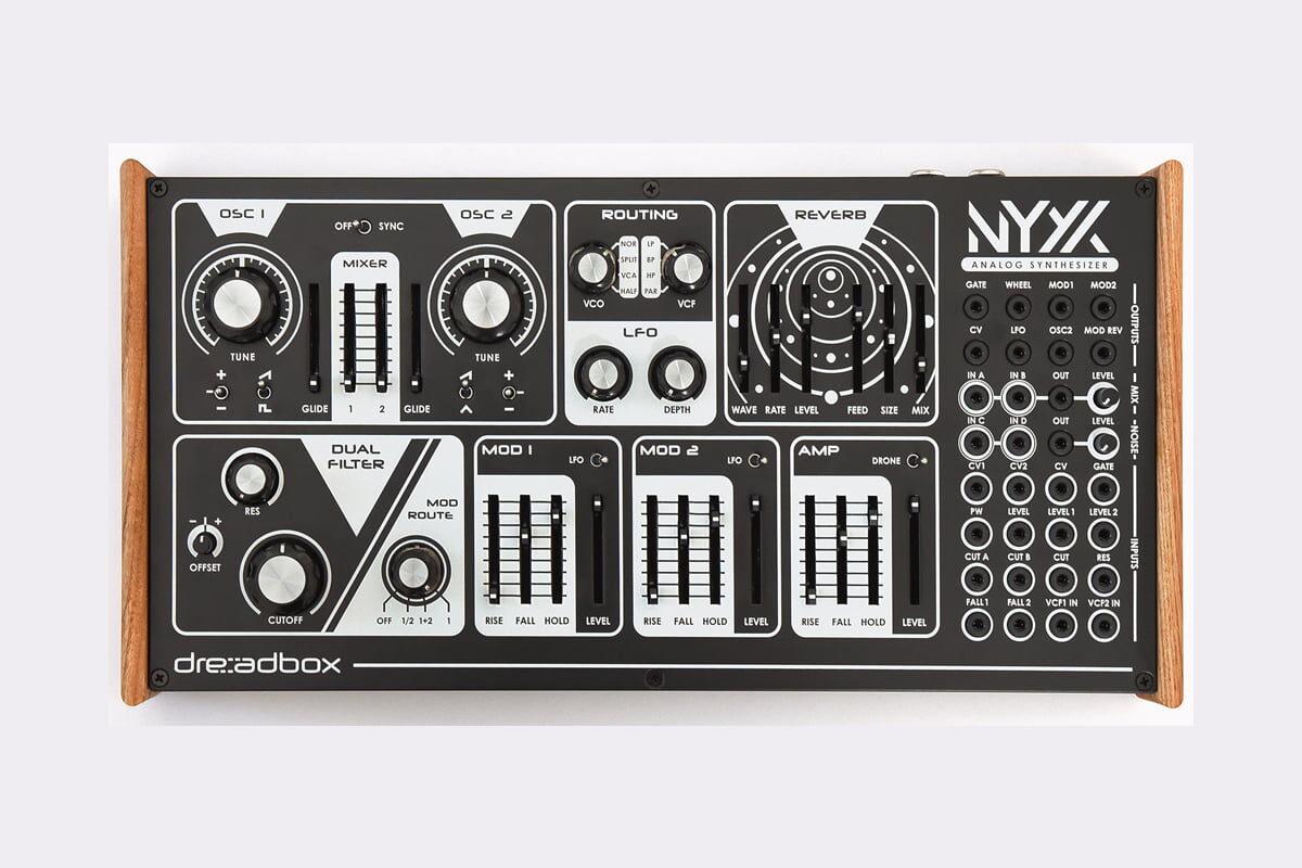 Dreadbox Nyx V2 – syntezator analogowy