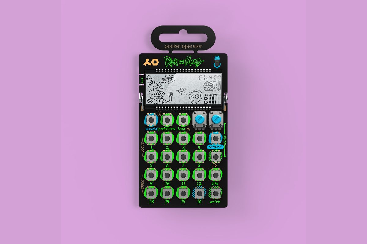 "teenage engineering PO-137 ""Rick and Morty"""