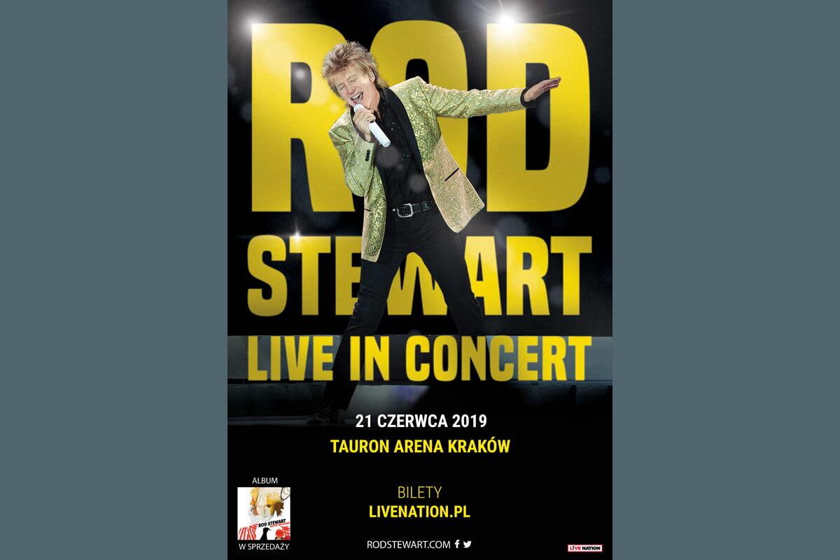 """Rod Stewart """"Live in Concert"""" – bilety dostępne na LiveNation.pl"""
