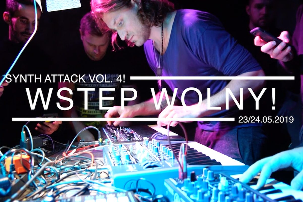 Synth Attack – warsztaty produkcji muzyki i spotkanie z syntezatorami