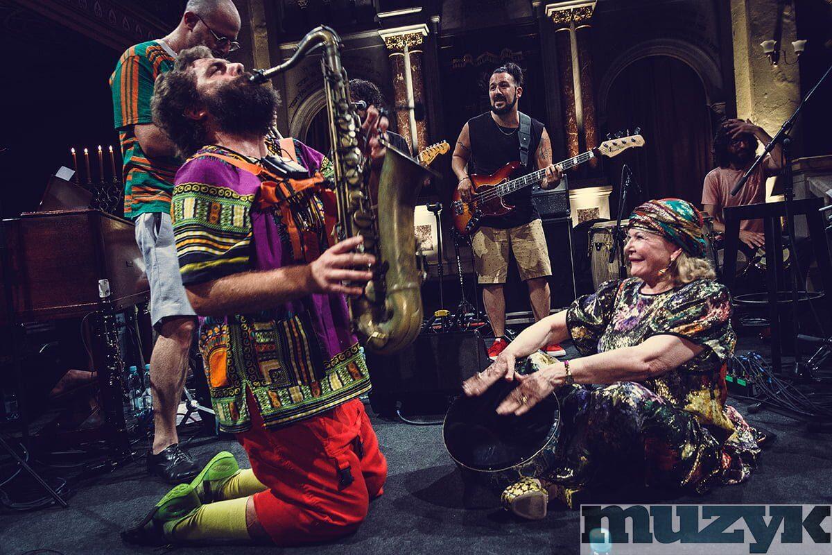 Raymonde & The Europeans wystąpili w Krakowie w ramach Festiwalu Kultury Żydowskiej