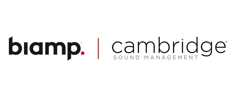 Biamp właścicielem marki Cambridge Sound Management