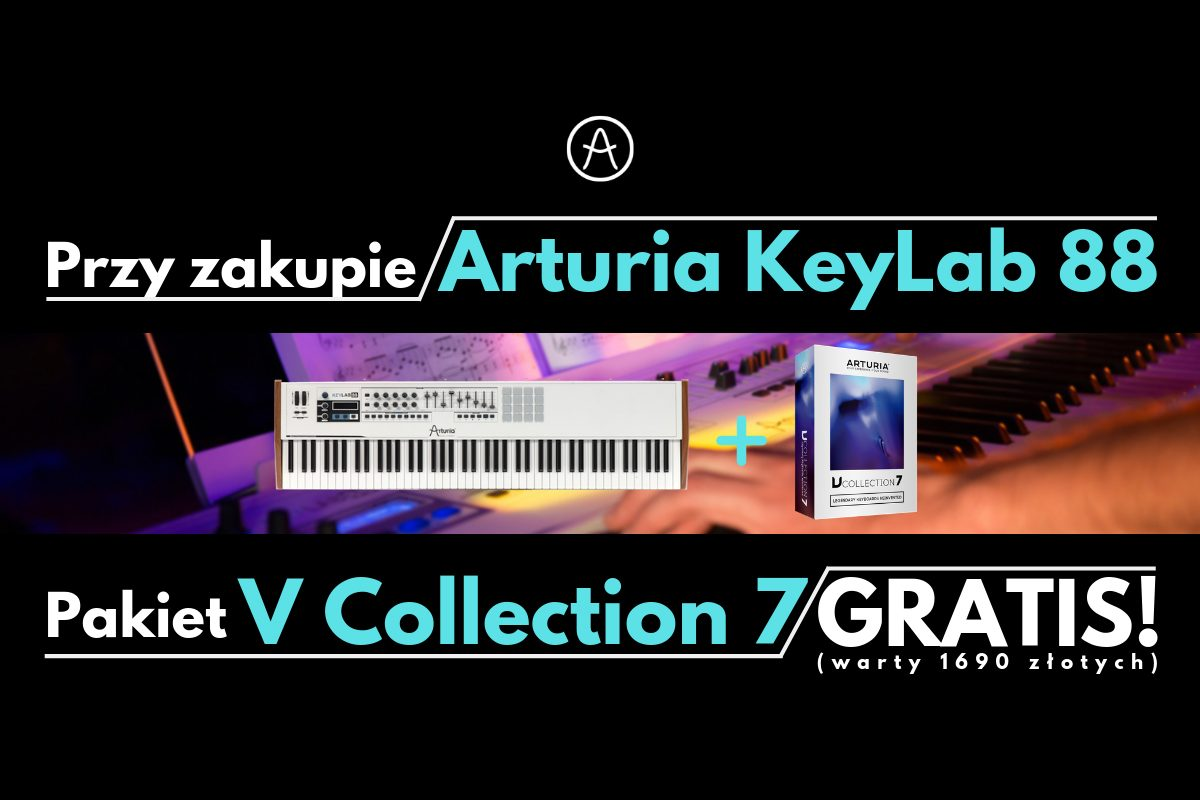 Arturia KeyLab 88 + V Collection 7 gratis