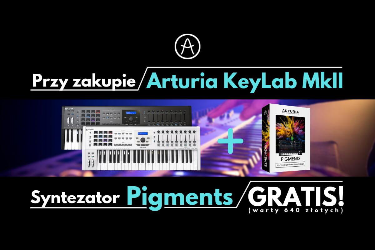 Arturia KeyLab MkII + Pigments – promocja
