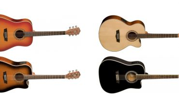 Gitary Washburn Harvest dostępne w nowej specyfikacji