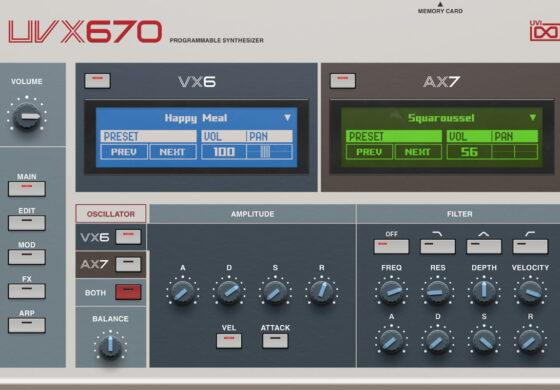 UVI UVX670 – nowy syntezator wirtualny