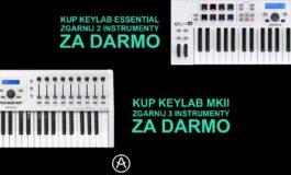 Arturia KeyLab MkII i KeyLab Essential – promocja
