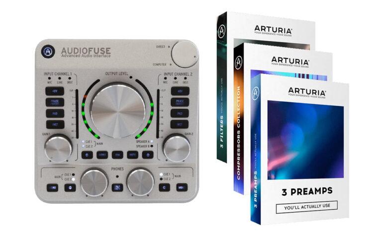 Darmowe wtyczki z interfejsem Arturia AudioFuse