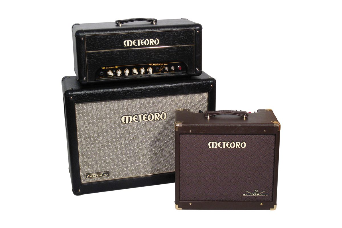 Meteoro Classic Deluxe V8 i Falcon 50G – test wzmacniaczy gitarowych