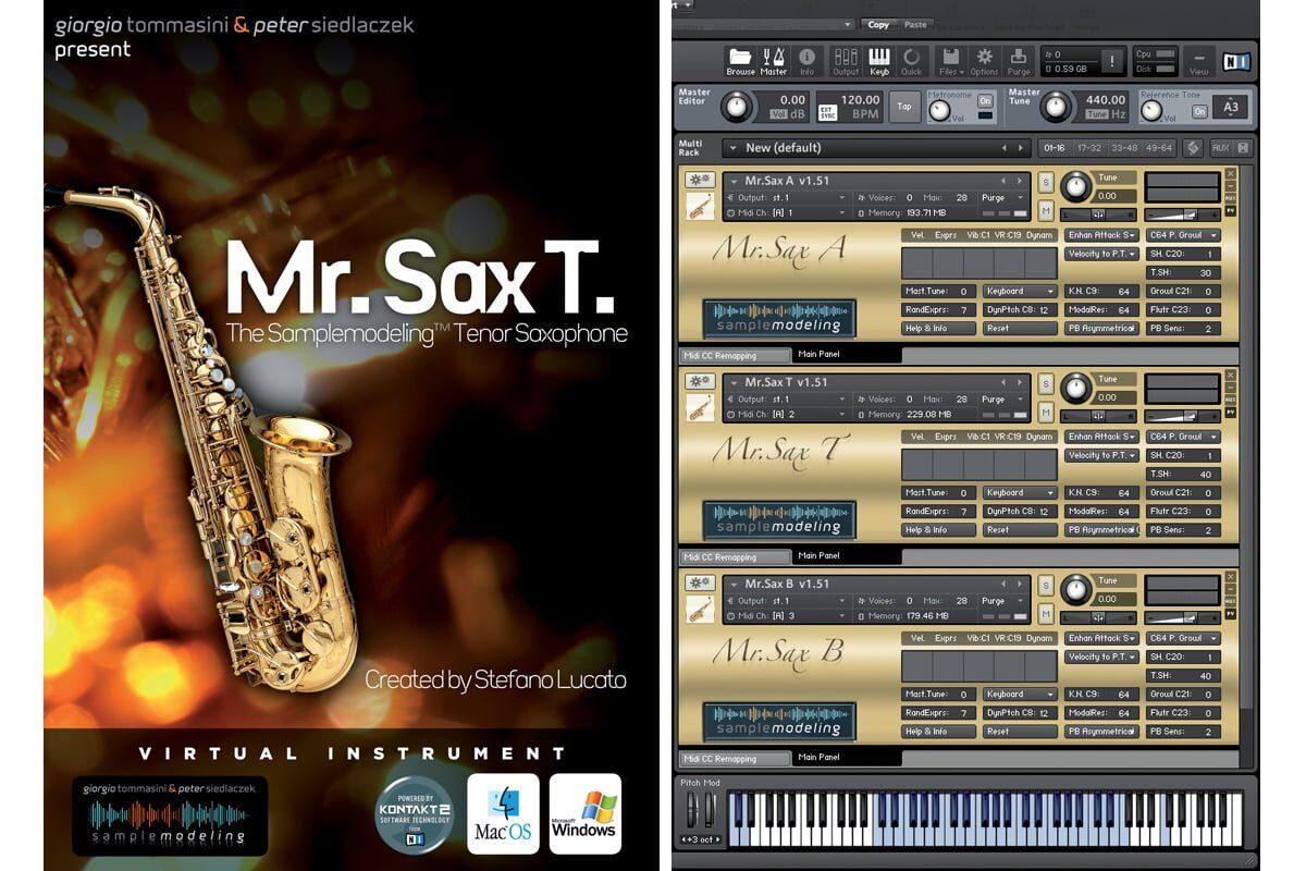 Sample Modeling Mr. Sax A, Mr. Sax T, Mr. Sax B – test