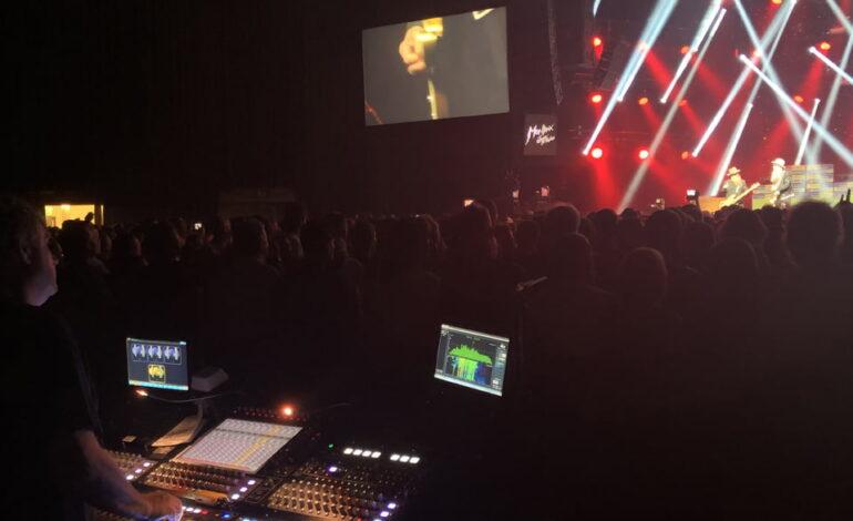DiGiCo SD10 koncert ZZ Top