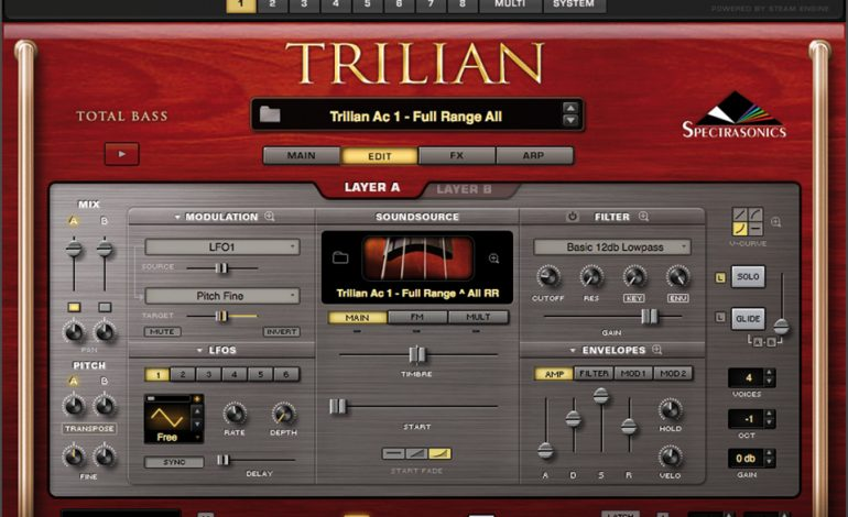 Spectrasonics Trillian Edit