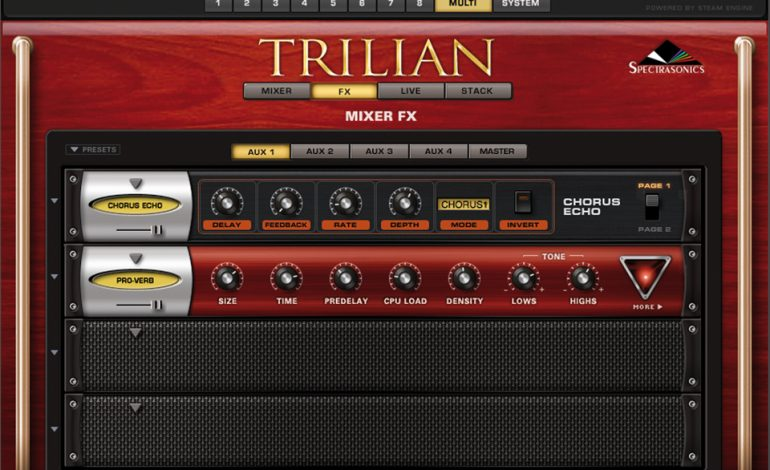 Spectrasonics Trillian Multi FX