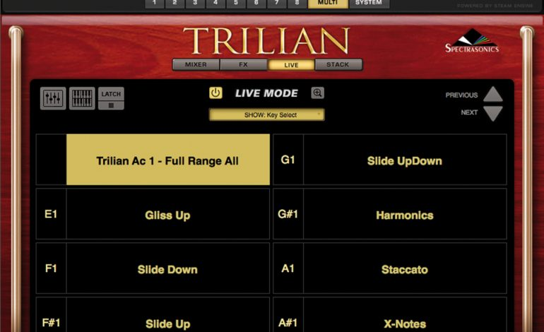 Spectrasonics Trillian Multi Live