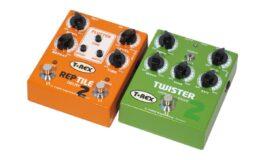 T-Rex Twister 2 i Reptile 2 – test efektów gitarowych