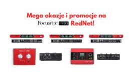 Focusrite Pro – promocja urządzeń Red i RedNet