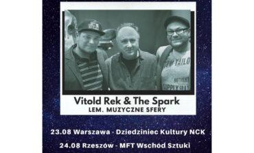 Vitold Rek & The Spark – koncerty