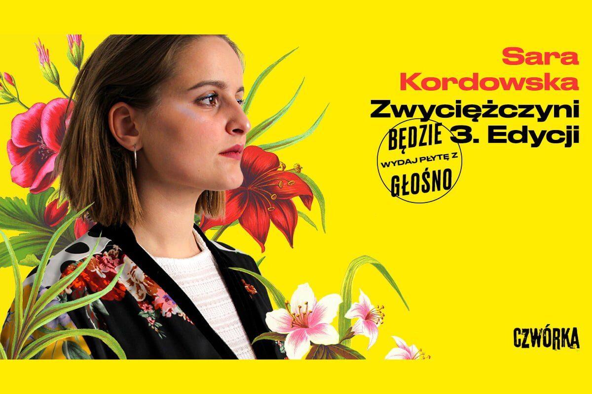"""Sara Kordowska laureatką konkursu """"Wydaj płytę z Będzie Głośno"""""""