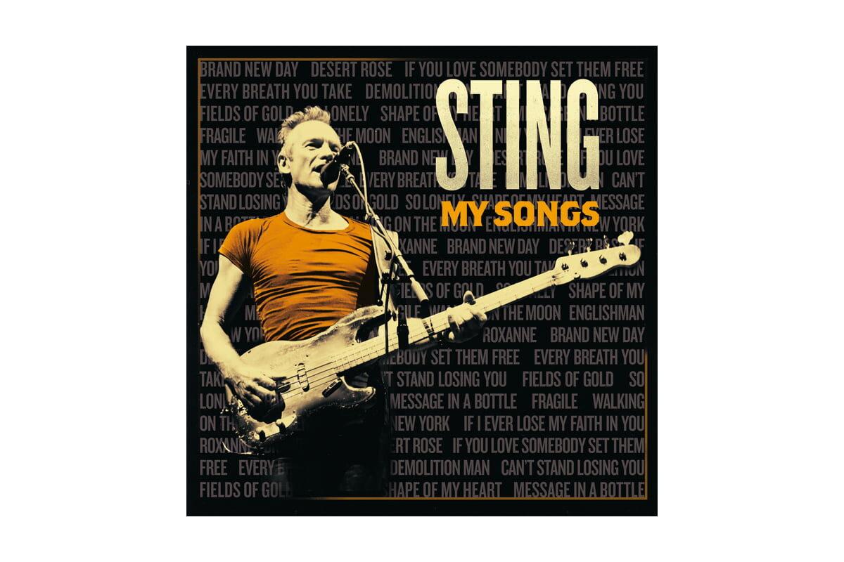 """Sting """"My Songs"""" – recenzja płyty"""