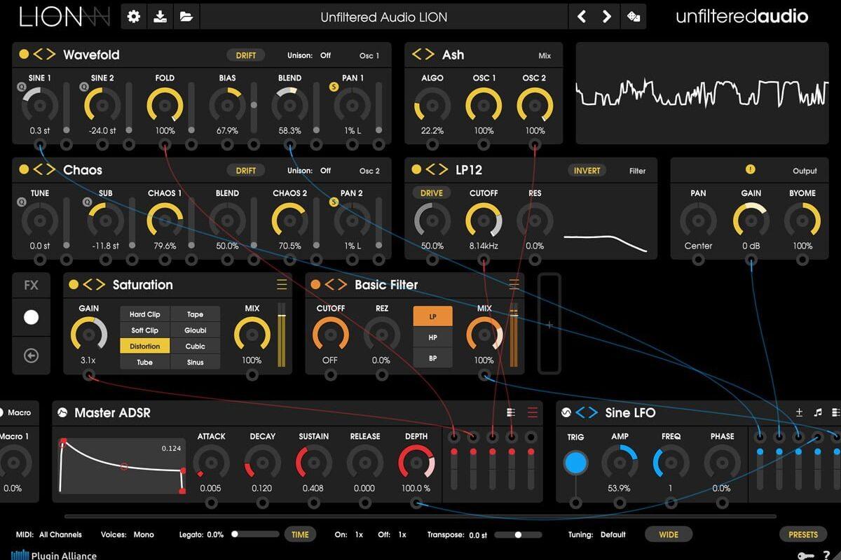 Unfiltered Audio LION – nowy syntezator wirtualny